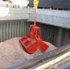 Windless Remote Control Clamshell Grab Bucket