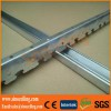 suspended steel profile with gypsum plasterboard