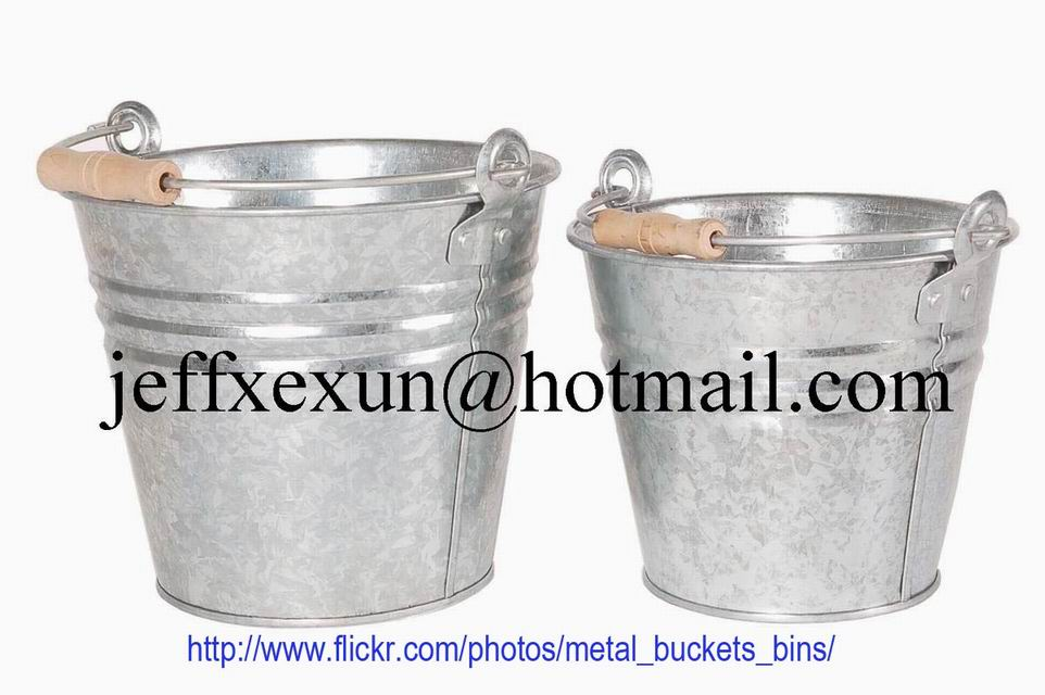 metal bucket tin bucket